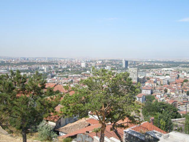 Ankara von oben