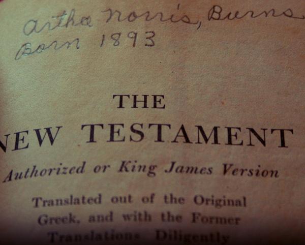 Das neue Testament in der Version der King James-Übersetzung